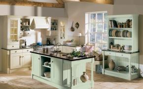 Окна в английском стиле на кухне