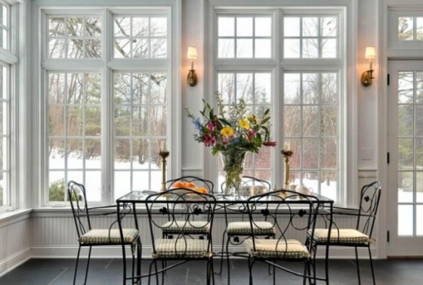 Окна в английском стиле фото