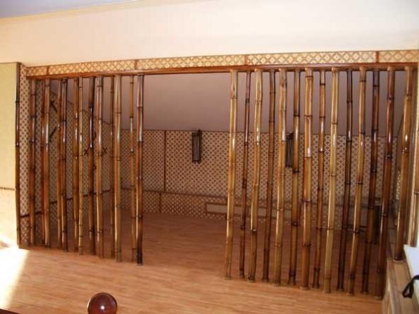 Межкомнатные шторы в интерьере