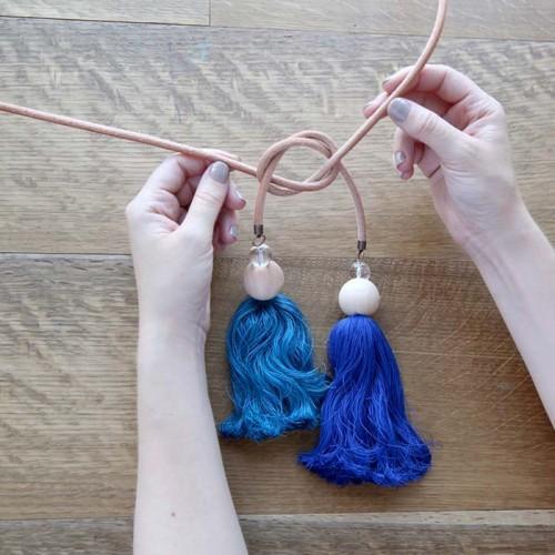 Как сделать кисти для штор своими рукам