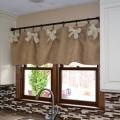 Шторы для кухни с бантиками