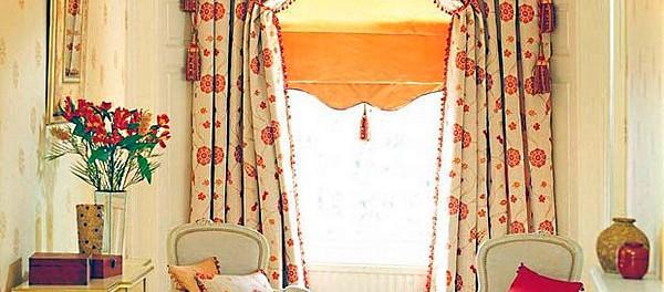 Итальянские шторы для гостиной