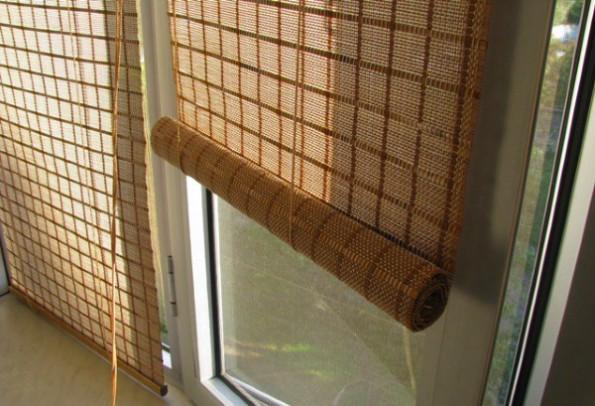 Деревянные шторы в интерьере: фото, идеи и примеры