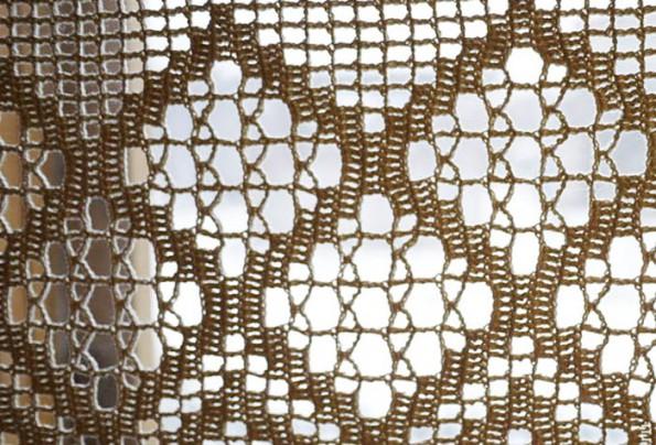 вязаные шторы в интерьере фото идеи и примеры
