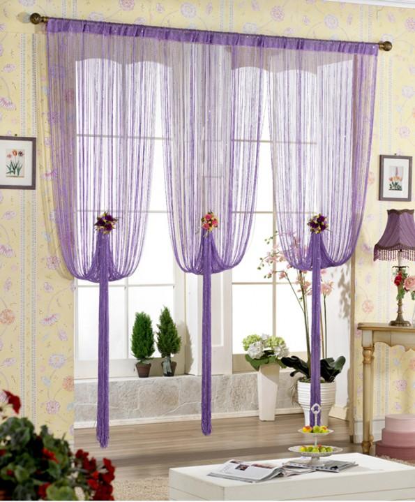 веровочные шторы