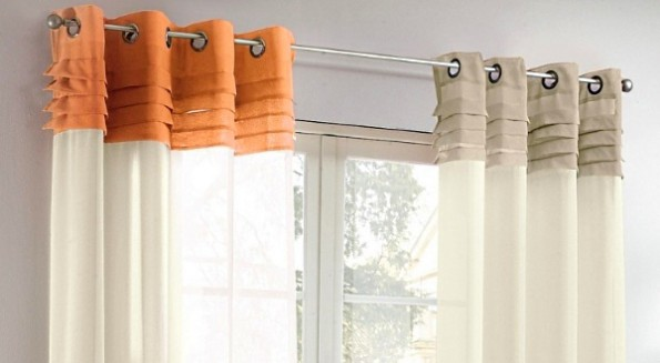 Простой вариант ленты для шторы