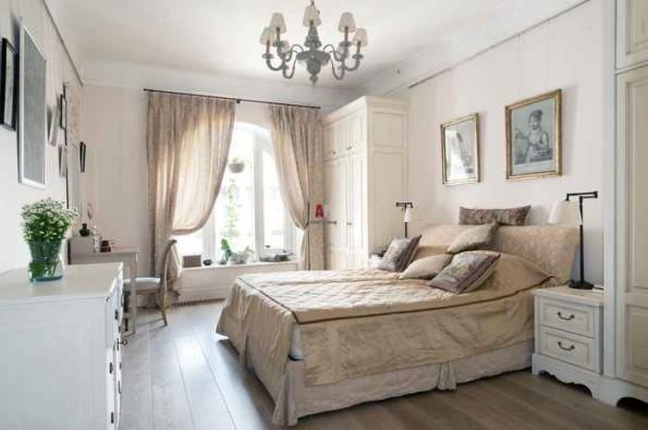 Английские шторы в интерьере спальни, кухни, гостиной, детской