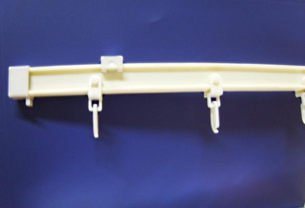 пластиковые крючки для штор на специальном основании